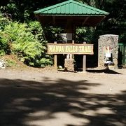 ハワイで自然にふれる マノアの滝