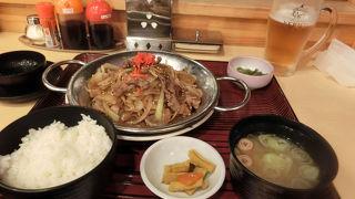 三沢空港唯一の食事どころ