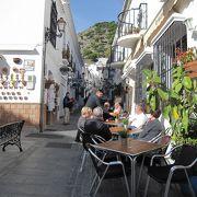ミハスの観光ポイントサン・セバスチャン通り(Calle San Sebastian)