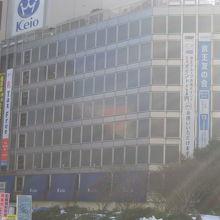京王百貨店および宝くじ売り場