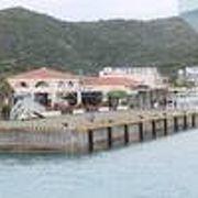 慶良間諸島、座間味村の中心です