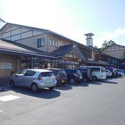 久慈駅の近くにある道の駅