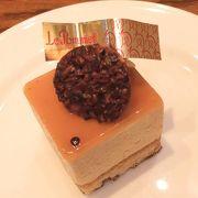 ルポミエさんのケーキは可愛らしくてお土産にも最適です!