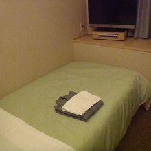 シングルルームはこんなものでしょう