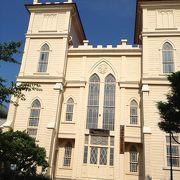 日本基督教団の教会です
