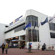 ターミナルはA~Dの4つあります
