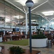 静かな空港