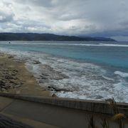 名瀬から一番近いきれいな海
