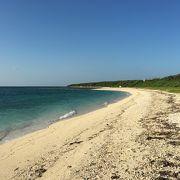 集落から一番遠い浜