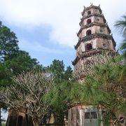 フエで最も美しいと言われる寺院