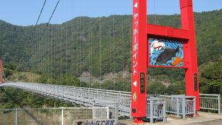 吊橋椿山レイクブリッジ