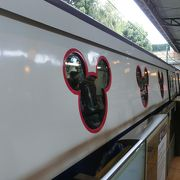 楽しいディズニー列車