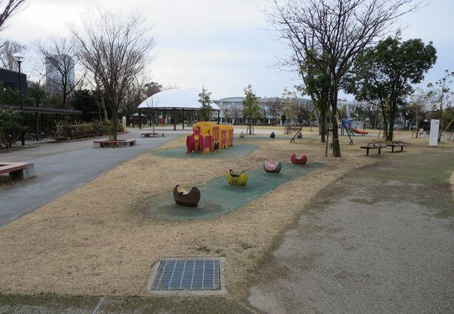 広いのどかな公園