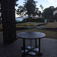 ホテルから眺める海。お気に入りの場所