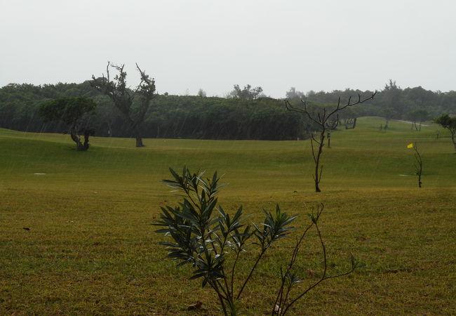 日本一南のゴルフ場です。