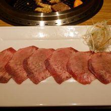 焼肉ふるさと 広島駅前店の夕食