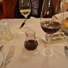 グラスワインもとても美味しかったです