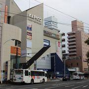 JR松本駅前にあります
