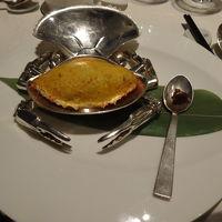 マンダリンオリエンタル内のレストランの料理