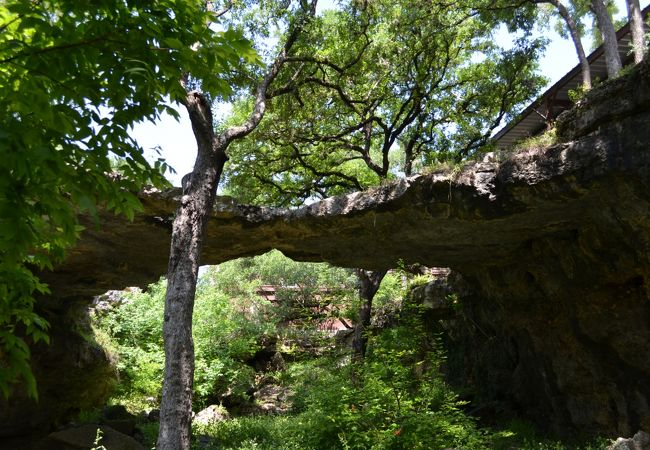 ナチュラルブリッジ洞窟