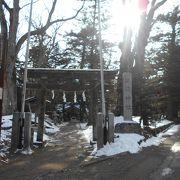 軽井沢の神社