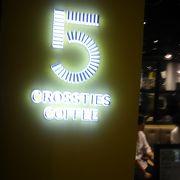 おいしいコーヒーでした、混んでます。