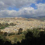 世界文化遺産に登録されているモロッコのフェズの旧市街は、東西2.2km、南北1.2kmの城壁内が世界文化遺産登録範囲です。フェズ・エル・バリと呼ばれる旧市街(メディナ)には建物がひしめき、人がすれ違うのがやっとの狭い路地が無秩序に延びていました。