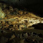 秋芳洞内の目玉の観光スポット