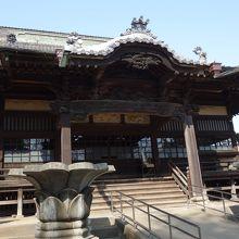徳川家康が鷹狩をしたときに訪れたお寺