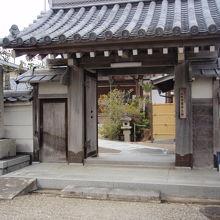 寿宝寺山門