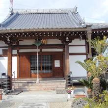 寿宝寺本堂