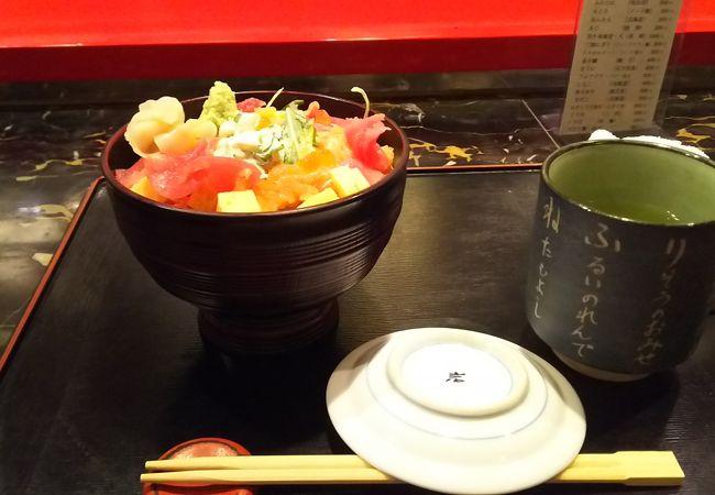 新幹線日帰り旅行券のクーポンでちらし寿司を無料で