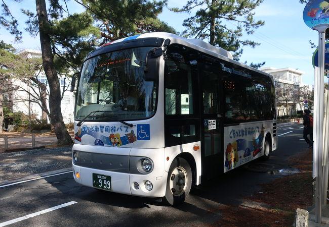観光地を繋ぐ便利な周遊バス ♪