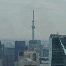 東京スカイツリーも見えます。