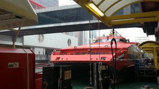 香港とマカオを結ぶターボジェット