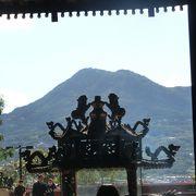 淡水老街の中にあるお寺です。