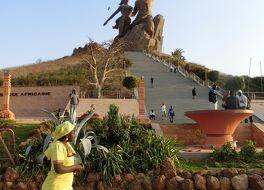 アフリカン ルネッサンスの像