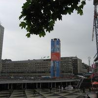 セルゲル広場と文化会館
