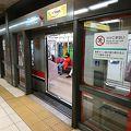 近代的で安全な地下鉄路線