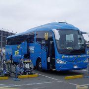 Airport Express Lima ミラフローレス地区と空港を結ぶエアポートバス