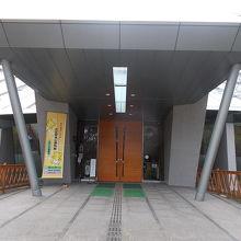 入り口の景観です。