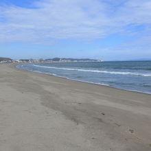 海岸線に来ました