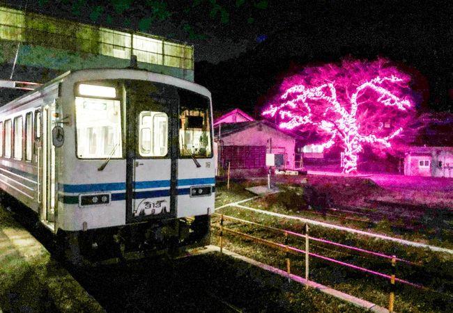 三江線の列車運転に於ける拠点駅です。