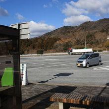 阿波PAに1台だけ駐車。朝が早かったからかな?