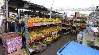 新鮮な果物や野菜が安いです