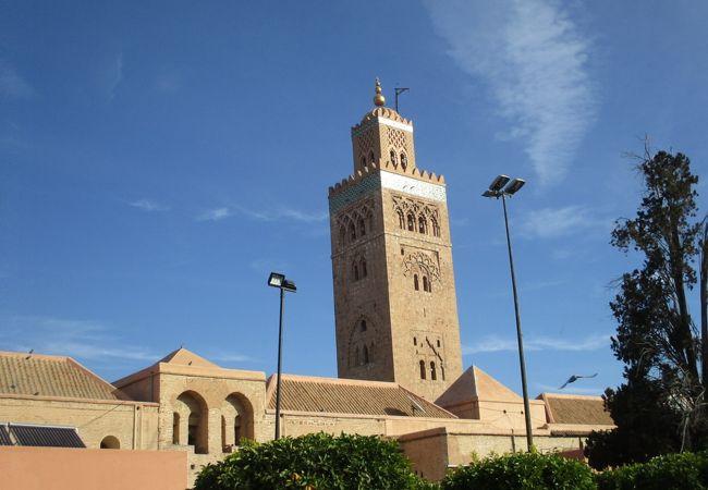 クトゥビーヤ モスクとミナレット