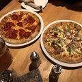 ピザがおいしかった