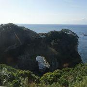 白山洞門のビュースポット