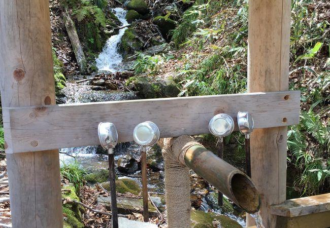 白神山地への山側からの入り口です。