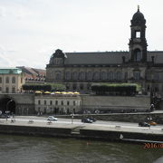 エルベ川を見渡すドレスデンの観光スポット